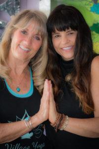 Debbie and Tammy prayer hands